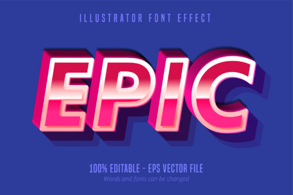 Download Free Modern Retro Script Editable Text Effect Graphic By Mustafa for Cricut Explore, Silhouette and other cutting machines.