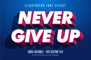 Download Free Modern Strong Bold Text Effect Graphic By Mustafa Beksen for Cricut Explore, Silhouette and other cutting machines.