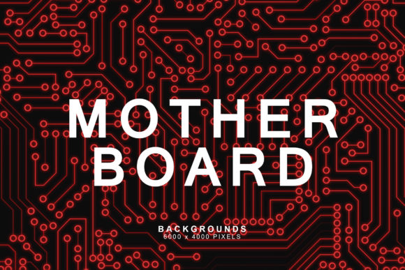 Download Free Motherboard Tech Backgrounds 1 Graphic By Artistmef Creative for Cricut Explore, Silhouette and other cutting machines.