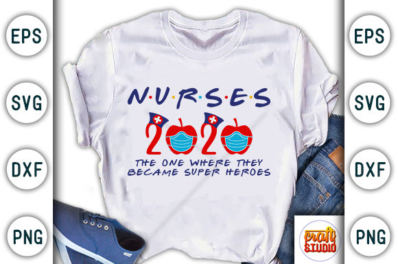 Print on Demand: Nurses Design, the One Where They Became Graphic Print Templates By CraftStudio