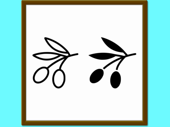 Download Free Olives Line And Glyph Icon Vegetable Vec Graphic By Anrasoft for Cricut Explore, Silhouette and other cutting machines.