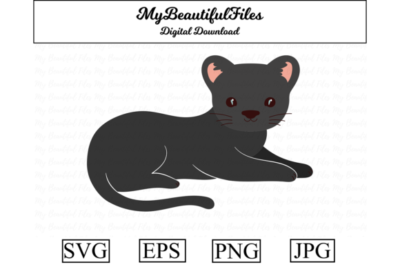 Download Free 2 Panther Png Designs Graphics for Cricut Explore, Silhouette and other cutting machines.
