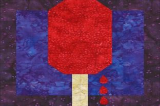 Patriotic Sampler Block 05 - Popsicle Graphic Quilt Patterns By seamstobesew