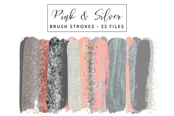 Download Free 85 Brush Stroke Clipart Designs Graphics for Cricut Explore, Silhouette and other cutting machines.