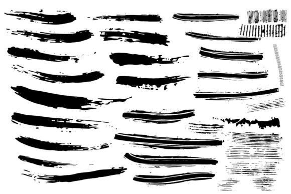 Download Free Poison Pen Affinity Designer Brushes Graphic By Annex for Cricut Explore, Silhouette and other cutting machines.