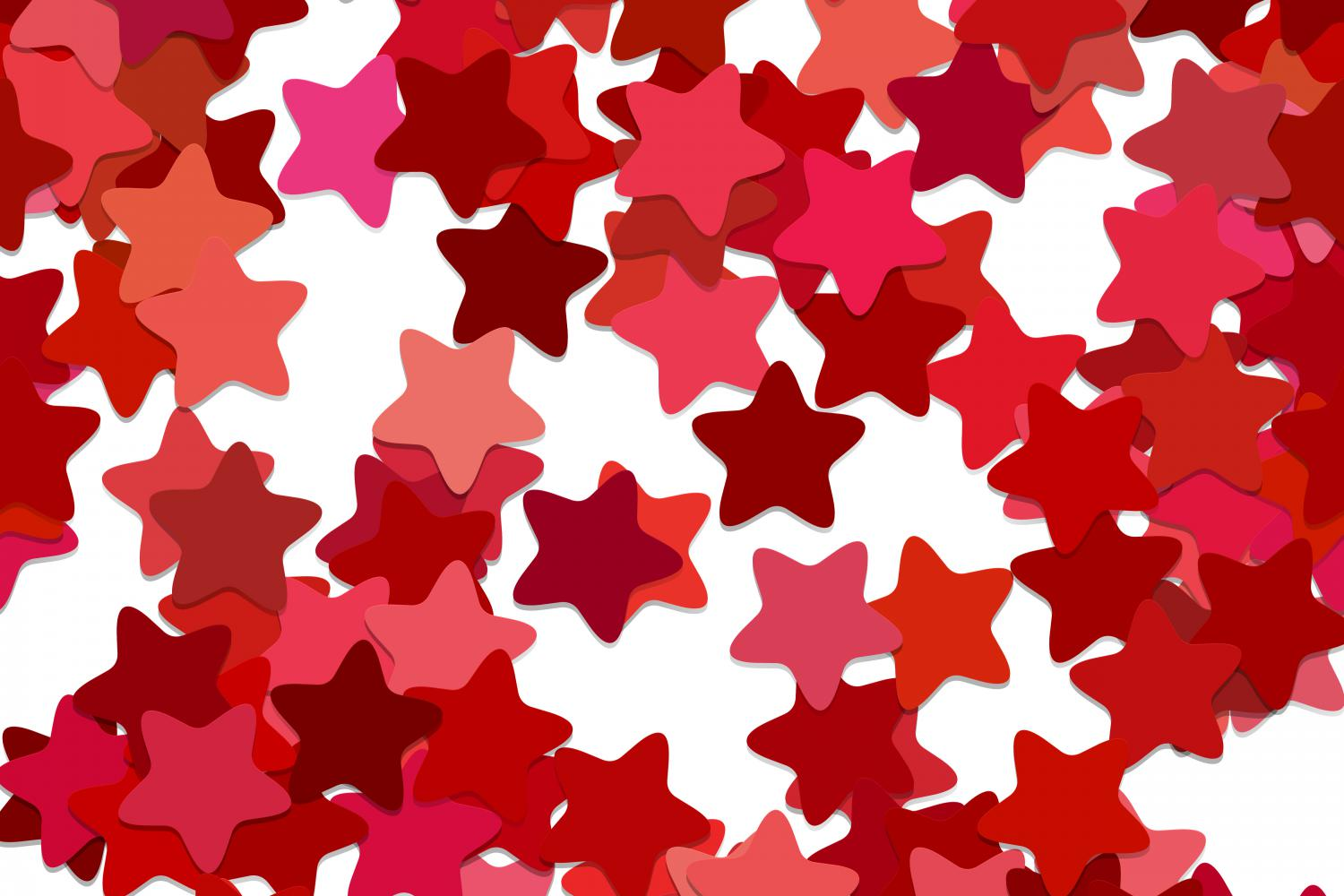 Download Free Red Seamless Star Pattern Graphic By Davidzydd Creative Fabrica for Cricut Explore, Silhouette and other cutting machines.