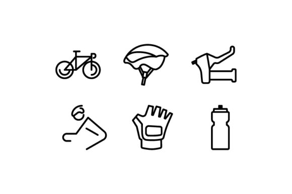 Download Free Ride A Bicycle Icon Graphic By Iconomic Str Creative Fabrica for Cricut Explore, Silhouette and other cutting machines.