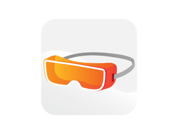 Download Free Safety Glasses Icon Graphic By Samagata Creative Fabrica for Cricut Explore, Silhouette and other cutting machines.