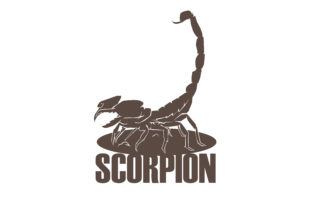 Download Free Scorpion Design Craft Grafico Por Rfg Creative Fabrica for Cricut Explore, Silhouette and other cutting machines.