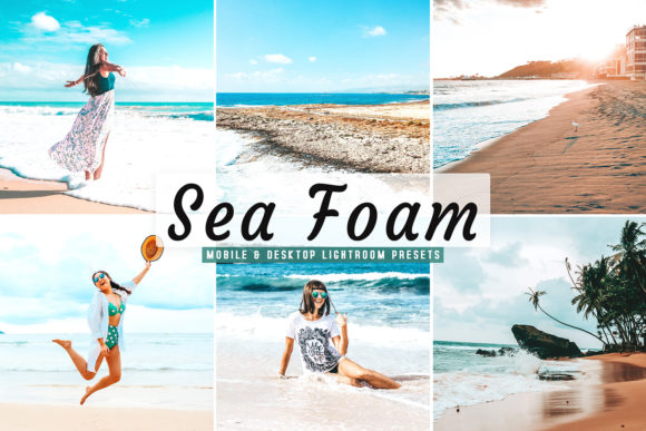 Download Free Sea Foam Lightroom Presets Pack Graphic By Creative Tacos for Cricut Explore, Silhouette and other cutting machines.
