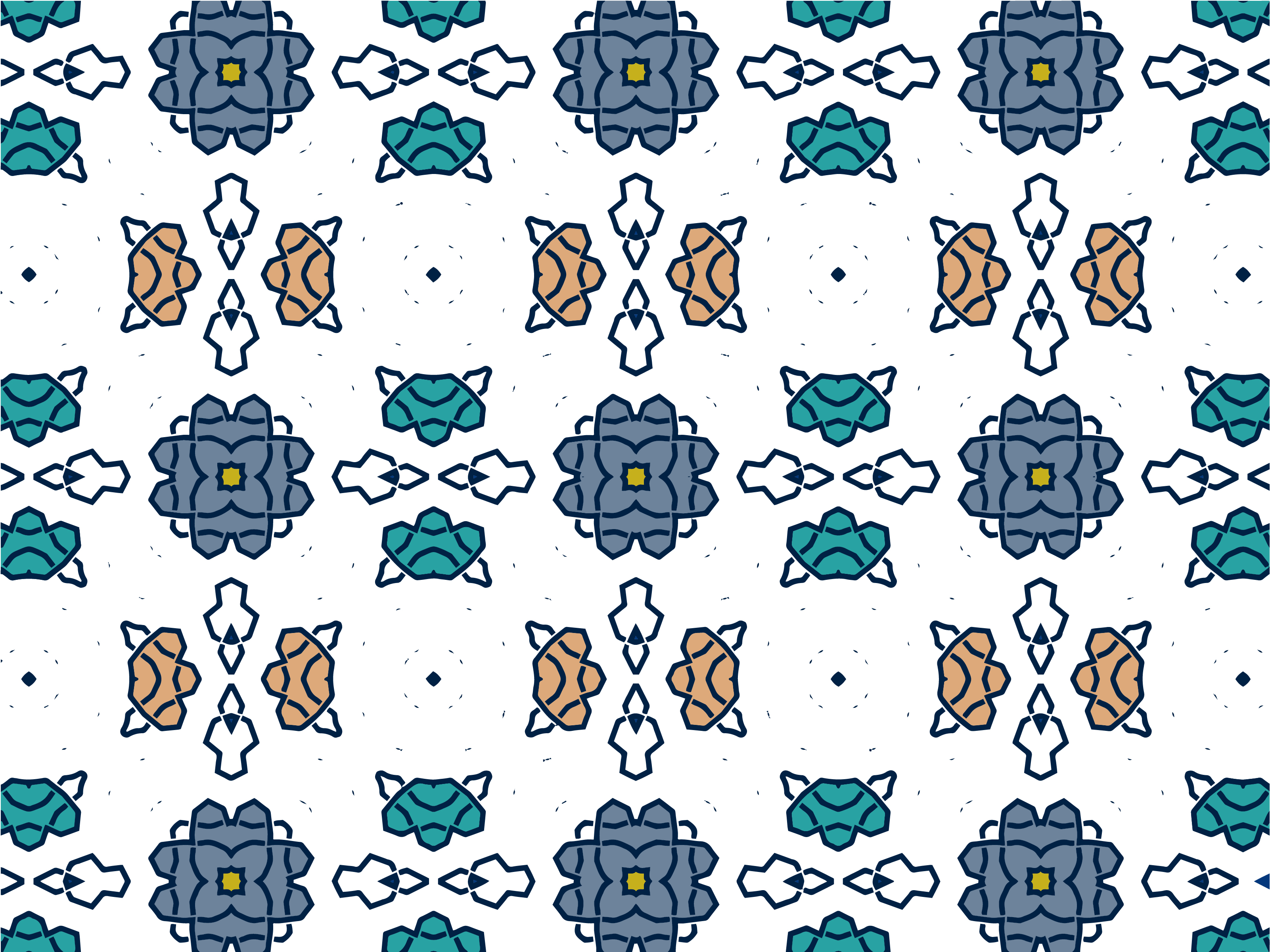 Download Free Seamless Pattern Geometric Colorful Graphic By Nativeevisual for Cricut Explore, Silhouette and other cutting machines.