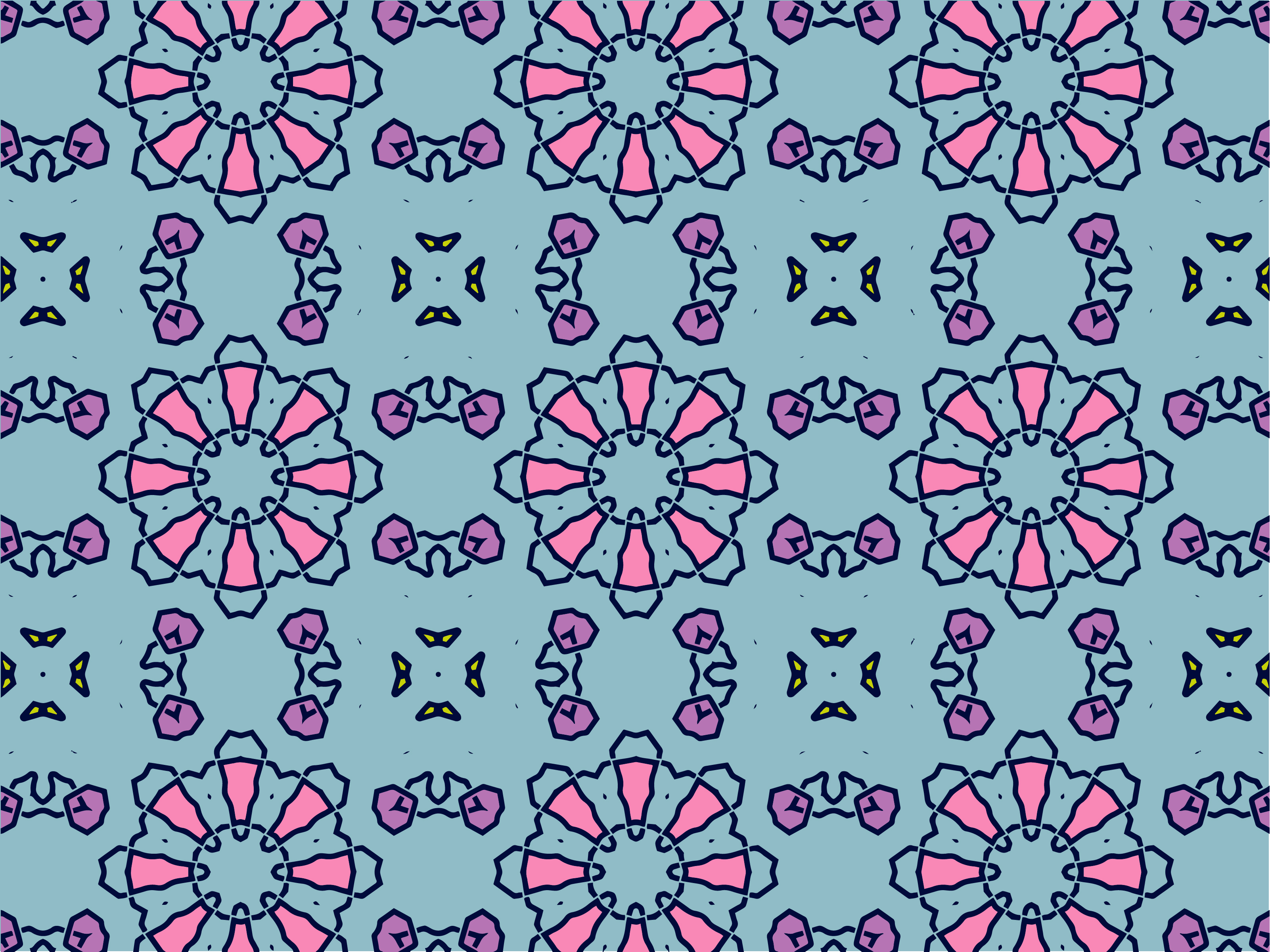 Download Free Seamless Pattern Geometric Shape Graphic By Nativeevisual for Cricut Explore, Silhouette and other cutting machines.