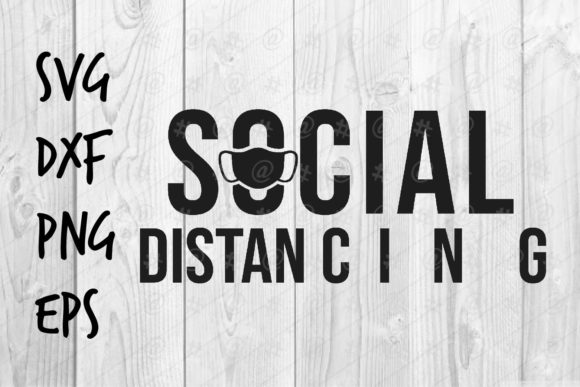 Download Free Social Distancing Graphic By Spoonyprint Creative Fabrica for Cricut Explore, Silhouette and other cutting machines.