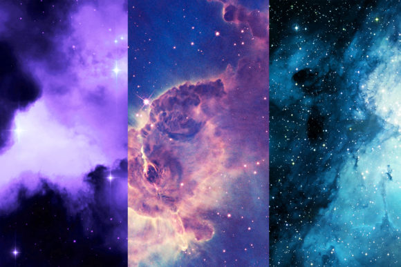 Space Digital Papers, Galaxy Backgrounds Graphic Backgrounds By BonaDesigns - Image 5