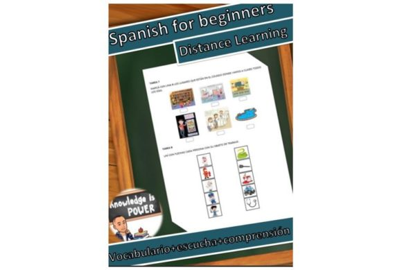 Spanish for Beginners, Part 2 Graphic Teaching Materials By alifarid