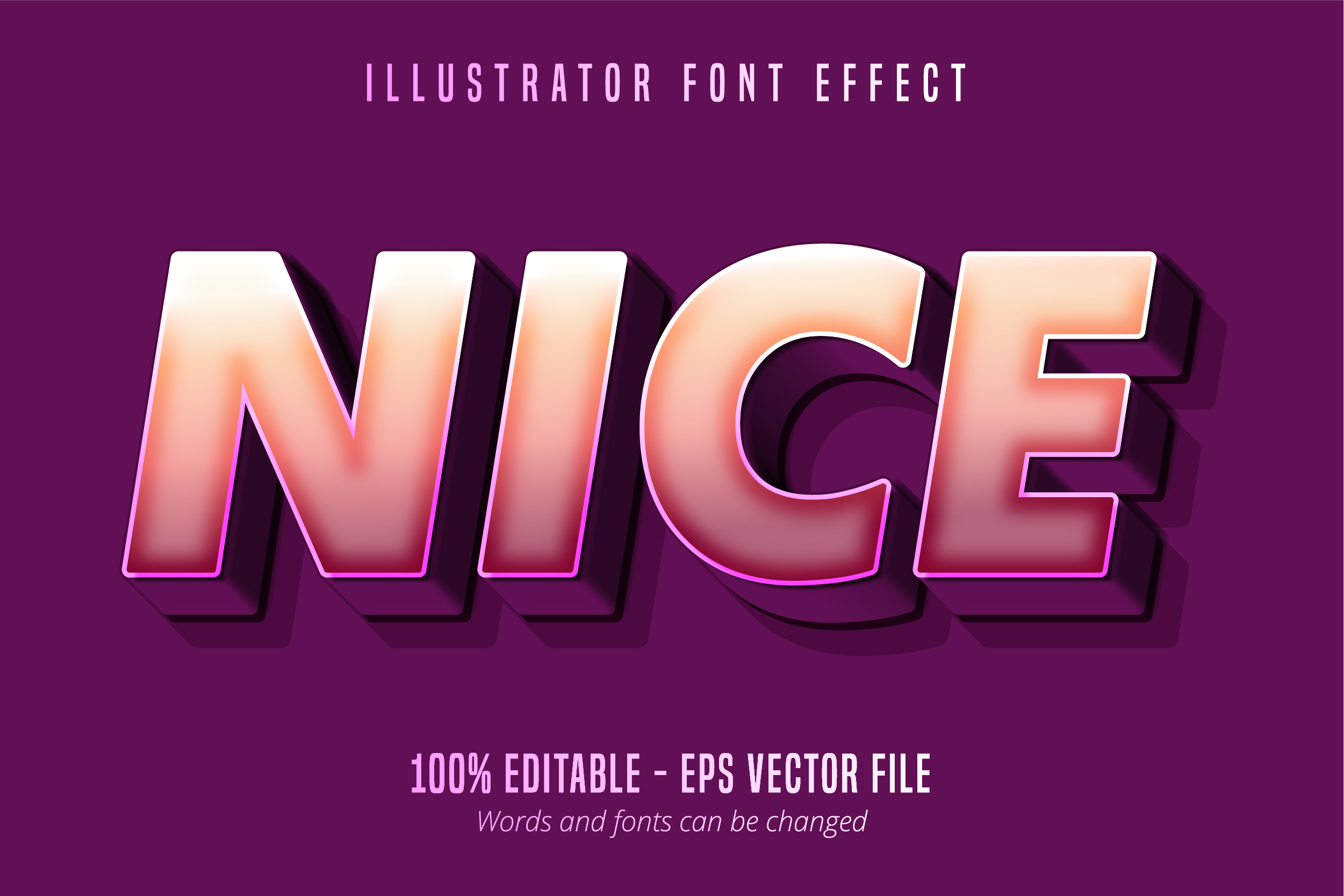 Download Free Strong Bold 3d Cartoon Style Font Effect Graphic By Mustafa for Cricut Explore, Silhouette and other cutting machines.