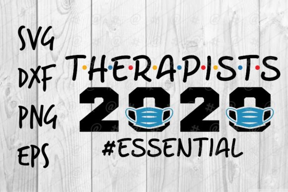 Therapists 2020 Essential SVG Cut Files