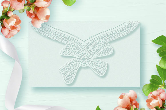 Download Free Tri Fold Wedding Invitation Graphic By Zhaclin Creative Fabrica for Cricut Explore, Silhouette and other cutting machines.
