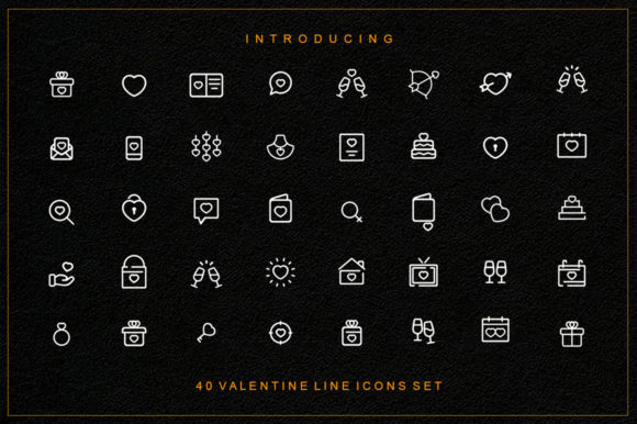 Download Free 2 Valentine Icons Designs Graphics for Cricut Explore, Silhouette and other cutting machines.