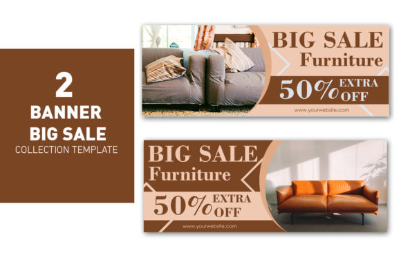 Big Sale Banner Template Collection Graphic Web Templates By ant project template
