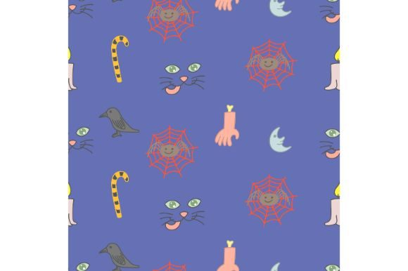 Download Free Cute Doodle Seamless Pattern Graphic By Firdausm601 Creative for Cricut Explore, Silhouette and other cutting machines.