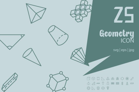 Geometry Graphic Icons By astuti.julia93@gmail.com