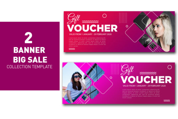 Gift Voucher Template Violet Collection Graphic Web Templates By ant project template