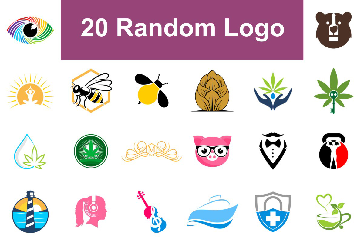 20 Random Logos V.3 Free Download