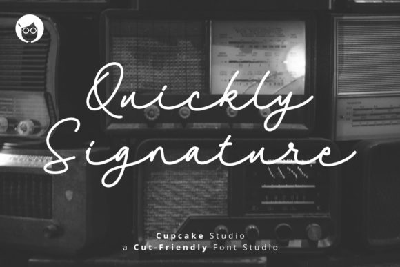 Print on Demand: AL Quickly Signature Script & Handwritten Font By TheSundoro