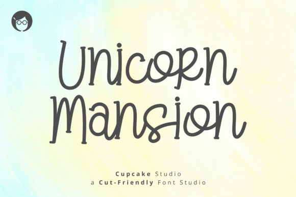 Print on Demand: AL Unicorn Mansion Script & Handwritten Font By Cupcake