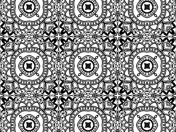Download Free Abstract Pattern Black White Graphic By Vectorceratops for Cricut Explore, Silhouette and other cutting machines.