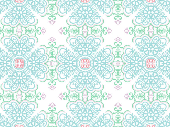 Abstract Ornament Pattern Ethnic Design Graphic By