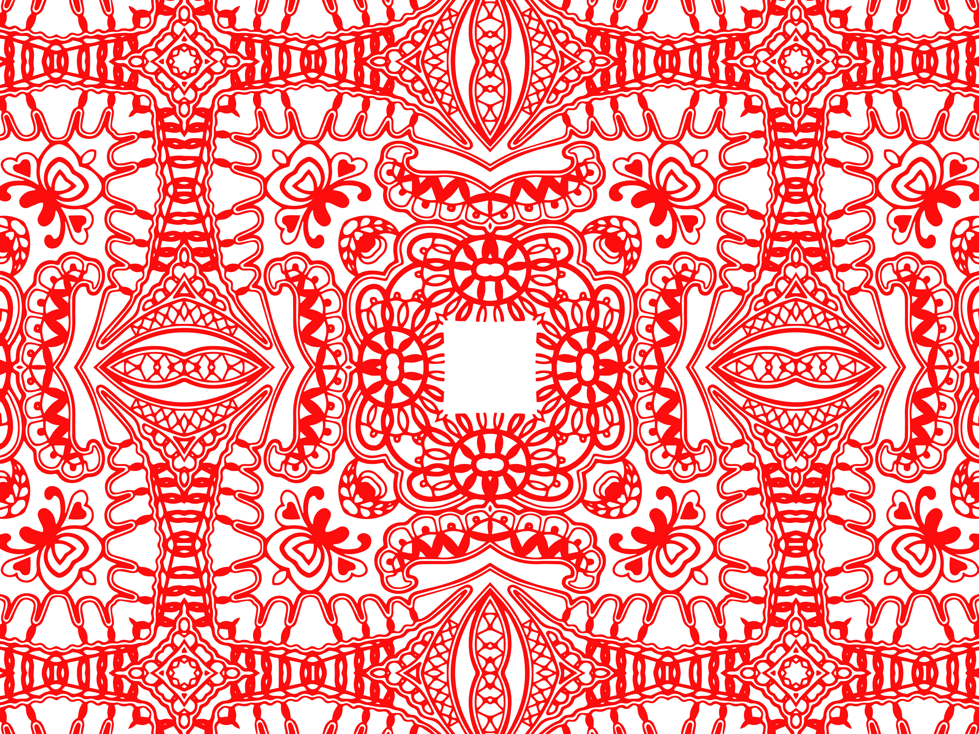 Download Free Abstract Pattern Red Color Graphic By Vectorceratops Creative for Cricut Explore, Silhouette and other cutting machines.