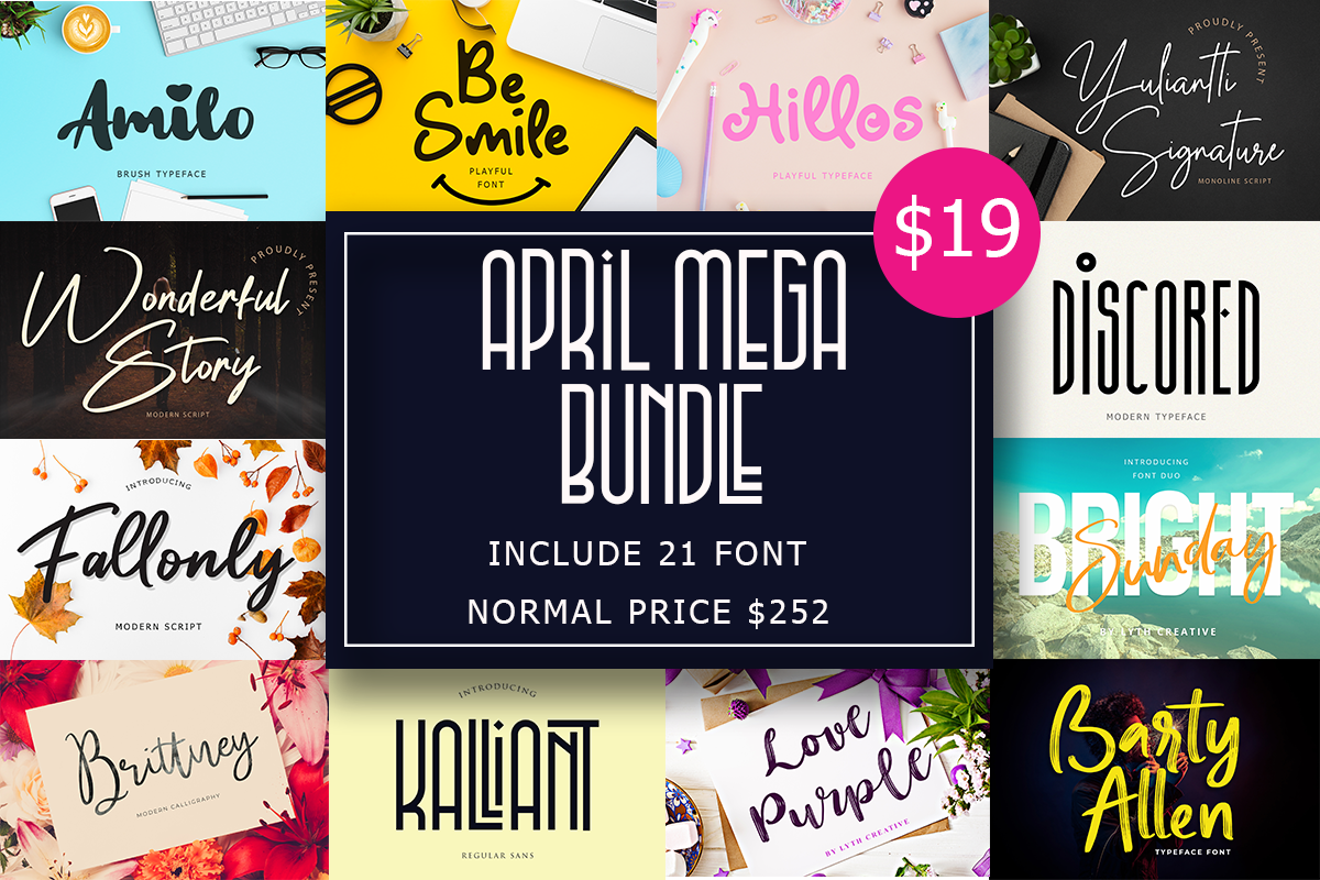 April Mega Bundle Free Download