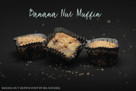Download Free Banana Nut Muffin Font By Ira Natasha Creative Fabrica for Cricut Explore, Silhouette and other cutting machines.
