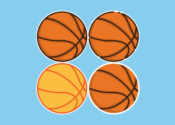 Download Free 124 Basketball Designs Graphics for Cricut Explore, Silhouette and other cutting machines.