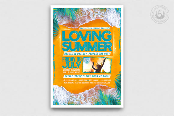 Download Free Golden Jazz Flyer Template V4 Graphic By Thatsdesignstore for Cricut Explore, Silhouette and other cutting machines.