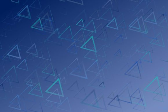 Blue Abstract Background with Triangles Graphic Backgrounds By davidzydd