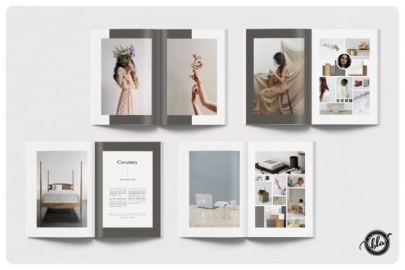 Download Free Coventry Moodboard Ebook Graphic By Blancalab Studio Creative Fabrica for Cricut Explore, Silhouette and other cutting machines.