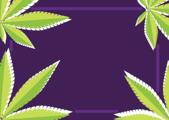 Download Free Cannabis Frame Graphic By Studioisamu Creative Fabrica for Cricut Explore, Silhouette and other cutting machines.