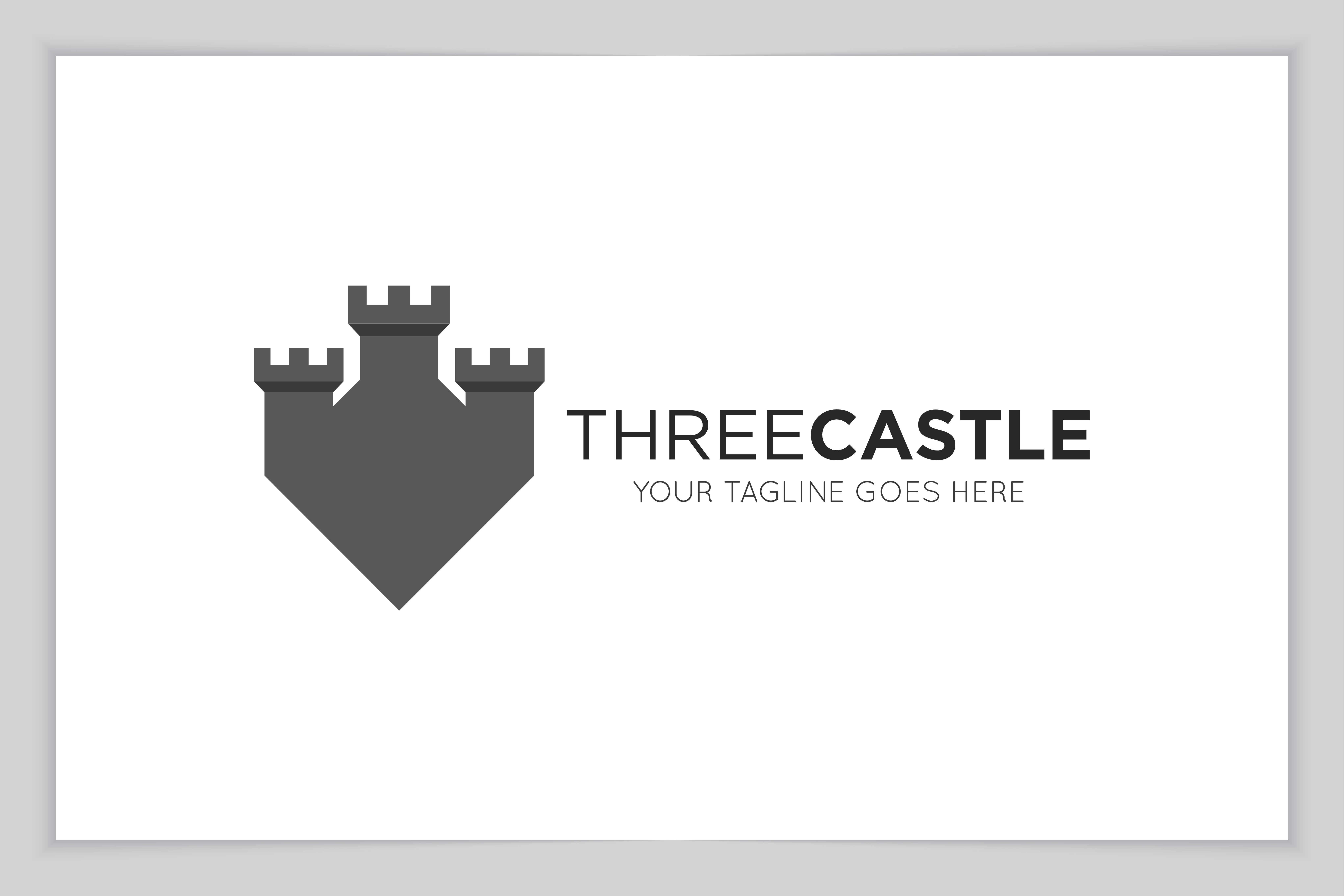 Download Free Castle Logo And Icon Vector Illustration Graphic By for Cricut Explore, Silhouette and other cutting machines.