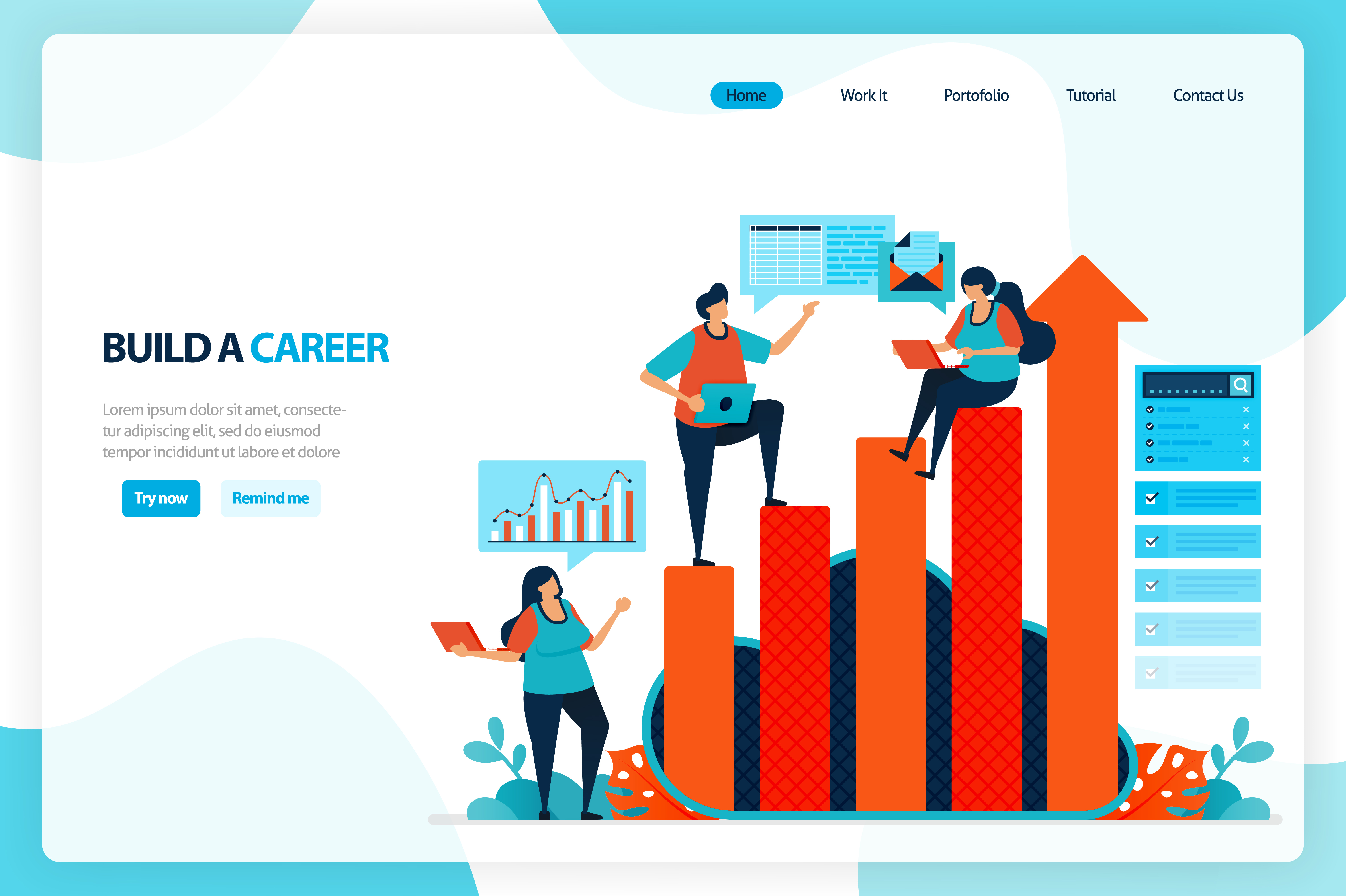 Download Free Chart In Achieving Career Goals Graphic By Setiawanarief111 for Cricut Explore, Silhouette and other cutting machines.