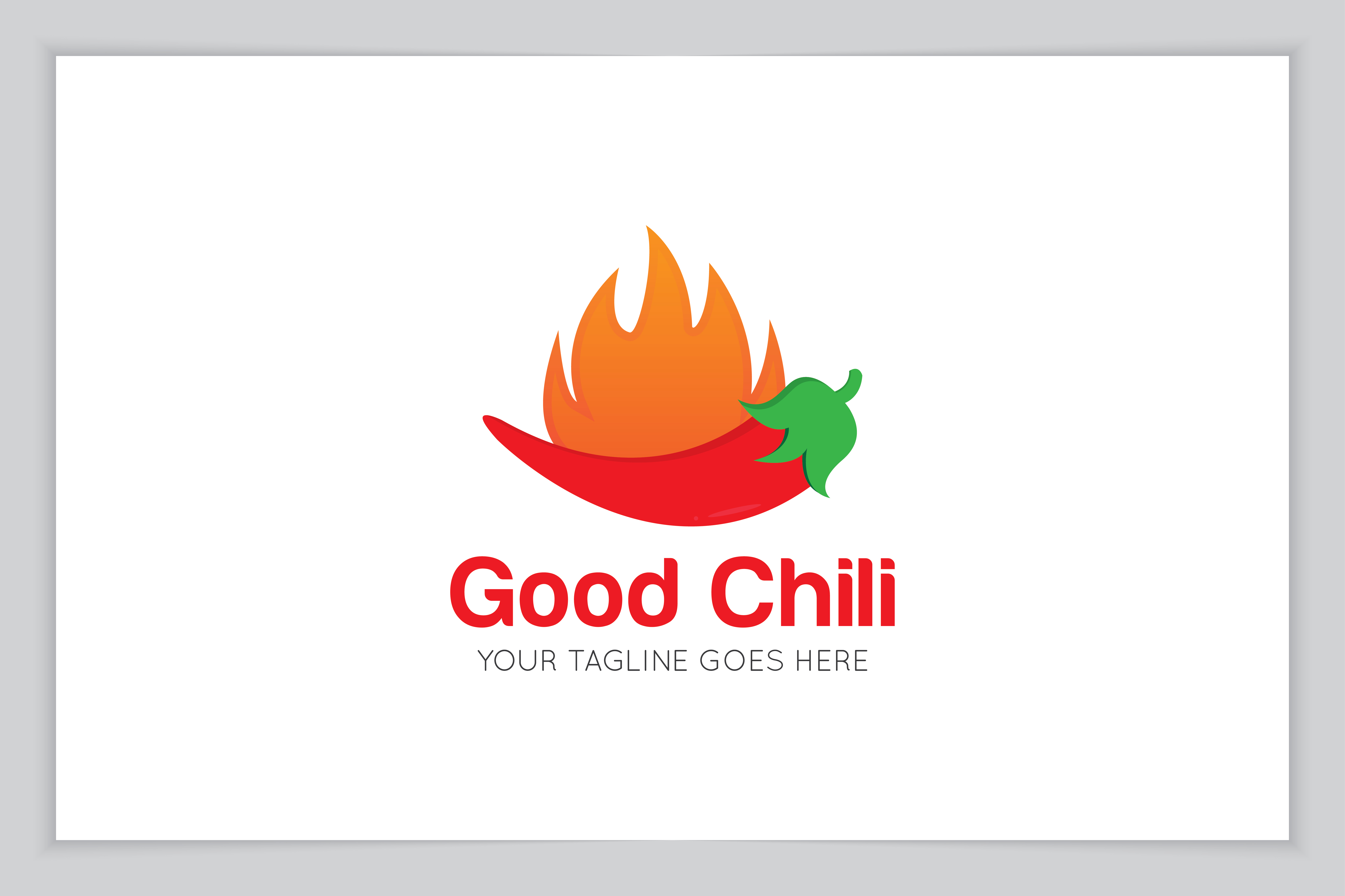 Chilli Logo And Icon Vector Illustration Graphic By