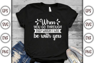 Print on Demand: Christian Jesus Design, when You Go White Graphic Print Templates By GraphicsBooth