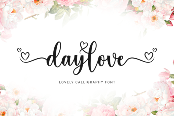 Print on Demand: Daylove Script & Handwritten Font By kammaqsum