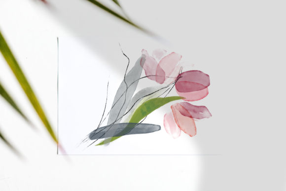 Delicate Watercolor Tulip Clipart Set Graphic Illustrations By Patishop Art - Image 13