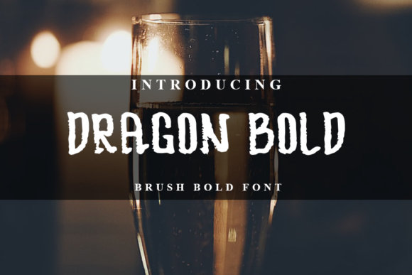 Print on Demand: Dragon Script & Handwritten Font By Inermedia STUDIO