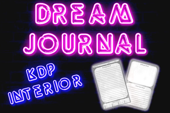 Print on Demand: Dream Journal Graphic KDP Interiors By Publish Books