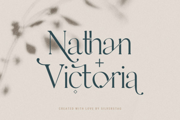 Download Free Esther Font By Silverstag Creative Fabrica SVG Cut Files