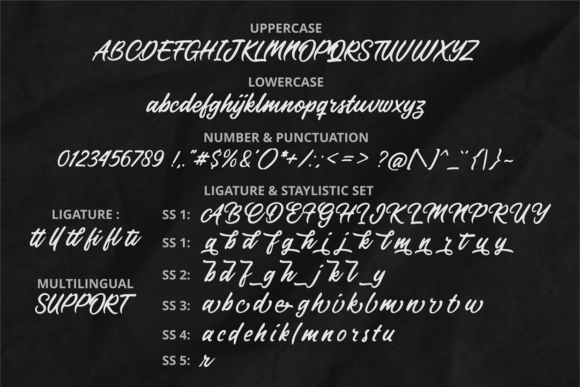Forestland Font Preview